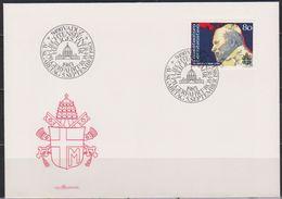 Lichtenstein FDC 1983  MiNr.830  Papst Johannes Paul II. ( D 6157 ) Günstige Versandkosten - FDC