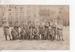 CPA.Photo.Militaire.extérieur.groupe.1928.Exercice Des Employés.soldats Avec Fusils - Photographie