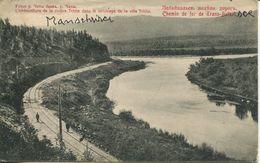 004527  L'embouchure De La Rivière Tchita Dans Le Voisinage De La Ville Tchita. Chemin De Fer De Trans-Baikal  1920 - China