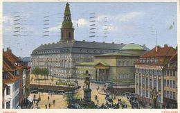 004528  Kobenhavn - Hojbroplads  1930 - Dänemark