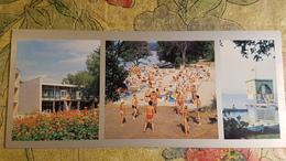 Russia. Vladivostok City, Beach- Volleyball -OLD Postcard 1980s Rare! - Volleyball