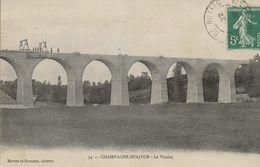 CHAMPAGNE-MOUTON  -  Le Viaduc  (travaux D'entretien - Finitions  - Non Précisé) - Autres Communes