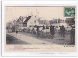 SAINT-AMAND-MONTROND : Le Champ De Foire, Boeufs - Etat - Autres Communes