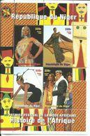 NIGER H/B  HISTORIA DE AFRICA    MNH  ** - Níger (1960-...)