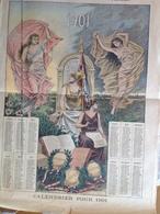 """Calendrier Pour  1901 - Supplément Illustré Du """" Petit Journal"""" - Calendars"""