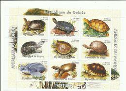 GUINEA  H/B  TORTUES   MNH  ** - Guinea (1958-...)