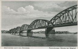 004530  Pantschowaer Brücke Bei Belgrad - Serbien