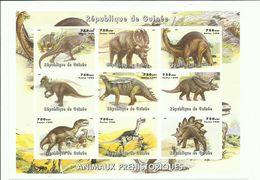 GUINEA  H/B  ANIMAUX  PREHISTORIQUES  (SIN DENTAR)    MNH  ** - Guinea (1958-...)