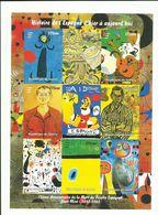 GUINEA  H/B  HISTORIA DE ESPAÑA   ( SIN DENTAR)    MNH  ** - Guinea (1958-...)