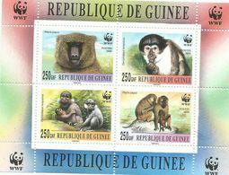 GUINEA  H/B  WWF   MNH  ** - Guinea (1958-...)