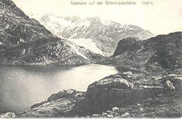 Suisse - CPA - Totensee Auf Der Grimselpasshöhe - Suisse