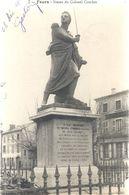 FEURS . STATUE DU COLONEL COMBES . ECRITE LE 28 DEC 1917 - Feurs