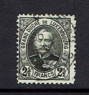 LUXEMBORG...used....high Value - 1891 Adolphe Front Side