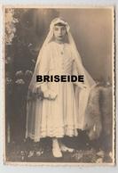 FOTOGRAFIA  CM. 10 X 14 BIMBA PRIMA COMUNIONE 26 MARZO 1936 TRENTO - Persone Anonimi