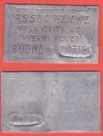 Buoni Caritatevoli Buono Lamierino X LATTE Ai Poveri E Infermi - Monetary/Of Necessity