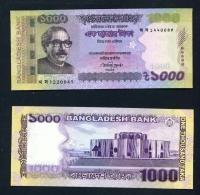 BANGLADESH  -  2017  1000 Taka  UNC Banknote - Bangladesh