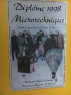 8614 - Vallon De L'Aubonne Lavigny Suisse Pour Diplôme 1998 Microtechnique Ecole D'ingénieurs - Etiquettes