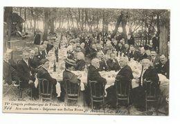 CHAMBÉRY - IVème Congrès Préhistorique De France -  - AIX LES BAINS - Déjeuner Aux Belles Rives (belle Animation) - Aix Les Bains