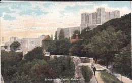 ANGLETERRE---RARE--DOVER---battlements, Castle--voir  2 Scans - Dover