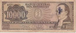 BILLETE DE PARAGUAY DE 10000 GUARANIES DEL AÑO 1982 (BANK NOTE) RARO - Paraguay