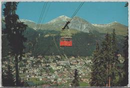Davos - Brämabüel-Jakobshorn-Bahn Gegen Schatzalp Und Schiahorn - Photo: Otto Furter - GR Graubünden
