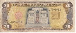 BILLETE DE REP. DOMINICANA DE 20 PESOS ORO DEL AÑO 1993 (BANKNOTE) - República Dominicana