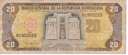 BILLETE DE REP. DOMINICANA DE 20 PESOS ORO DEL AÑO 1997 (BANKNOTE) - Dominicana