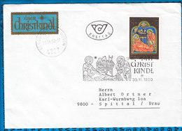 Austria Couvert Cristmas Christkindl 1990 / 06 - Postwaardestukken