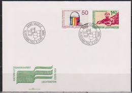 Lichtenstein FDC 1988 MiNr.945 - 946  Zusammenarbeit Zwischen Costa Rica Und Lichtenstein( D6164 )Günstige Versandkosten - FDC