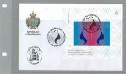 FDC SAN MARINO PRIMA REGGENZA FEMMINILE - PREMIER RÉGIME FÉMININ - Profesiones