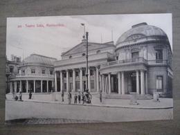 Tarjeta Postal Postcard - Uruguaya Uruguay Montevideo - Teatro Solis - 303 - Uruguay