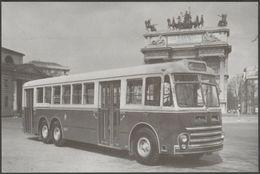 Alfa Romeo 140 A Autobus - Bus Story Postcard - Buses & Coaches