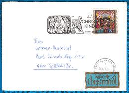 Austria Couvert Cristmas Christkindl 1994 - Postwaardestukken