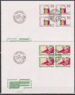 Lichtenstein FDC 1988 MiNr.945 - 946  Zusammenarbeit Zwischen Costa Rica Und Lichtenstein( D6166 )Günstige Versandkosten - FDC