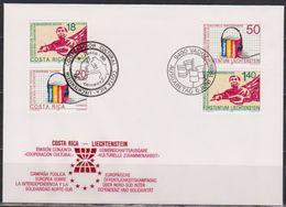 Lichtenstein FDC 1988 MiNr.945 - 946  Zusammenarbeit Zwischen Costa Rica Und Lichtenstein( D6167 )Günstige Versandkosten - FDC