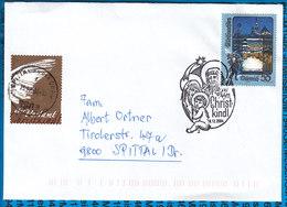 Austria Couvert Cristmas Christkindl 2004 - Postwaardestukken