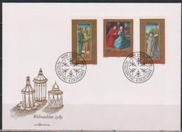 Lichtenstein FDC 1989 MiNr.978 - 980  Weihnachten ( D 6168 ) Günstige Versandkosten - FDC