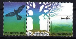 Serie Nº 994/6  Holanda - Águilas & Aves De Presa