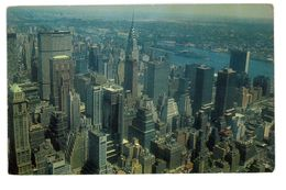 CPSM ETATS-UNIS NEW-YORK CITY THE EMPIRE STATE BUILDING - Multi-vues, Vues Panoramiques