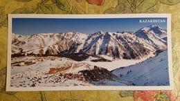 KAZAKHSTAN.  Almaty Lake  - Modern  Postcard  - Euro Format - Kazakhstan