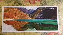 KAZAKHSTAN.  Almaty, Issyk  Lake  - Modern  Postcard  - Euro Format - Kazakhstan