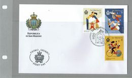 FDC SAN MARINO JOURNÉE INTERNATIONALE DE LA FAMILLE - Sin Clasificación