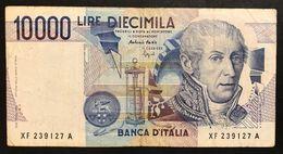 10000 Lire Volta Serie Sostitutiva Xf....a 1994 N.C. Lotto.1899 - [ 2] 1946-… : Républic
