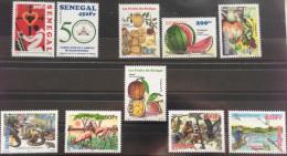 Sénégal 2013 Année Complète Complete Year Set Jahrgang Mi. 2206 -2215 Keur Moussa Fruits Réserve Gueumbeul Faune Fauna - Senegal (1960-...)
