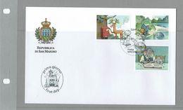 FDC SAN MARINO POSTA ESPECIALE - POSTE SPÉCIAL - Correo Postal
