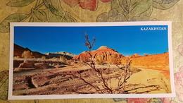 KAZAKHSTAN. Zhetisu, Altyn Emel Park  - Modern  Postcard  - Euro Format - Kazakhstan