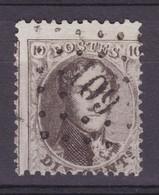 N° 14 A  LP 109 EGHEZEE COBA +15.00 - 1863-1864 Medallones (13/16)