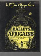 Paris : Programme BALLETS AFRICAINS (république De Guinée)  1964 (CAT 1109) - Programs
