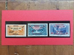 LEVANTE FRANCESE 1942 - Francobolli Siria Sovrastampati Nuovi * Yvert Nn. 41/43 + Spese Postali - Nuovi