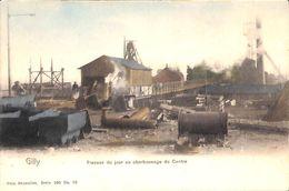Gilly - Travaux Du Jour Au Charbonnage Du Centre (animée, Colorisée) - Charleroi